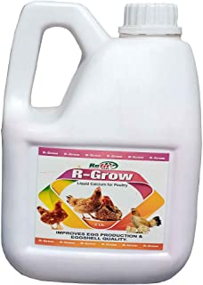 REFIT ANIMAL CARE - Calcium Supplement for Poultry, Chicken, Broiler and Birds (R-Grow 2 LTR.)