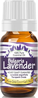 Pure Gold Bulgarian Lavender Essential Oil, 100% Natural & Undiluted, 10ml