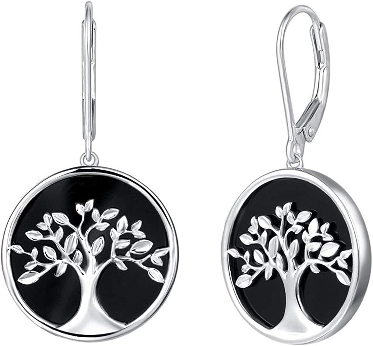 Agvana Tree of Life Necklace Boston Mall Sterling Silver Na Earrings Wholesale Genuine