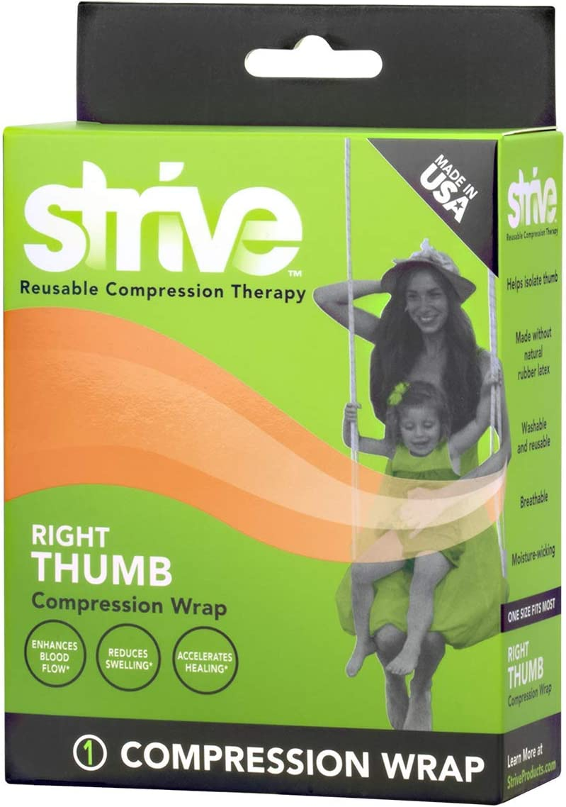 Strive Right Thumb Max 60% OFF Compression Wrap Pain Joint Ranking TOP11 Musc Relief and