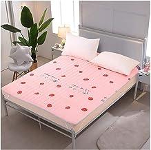 Tatami Mattress, Japanese Foldable Futon Mattress, Comfortable Breathable Thick Sleeping Pad for Dormitory Living Room Thi...