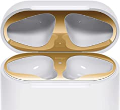 elago Upgraded AirPods Dust Guard (Gold, 1 Set) – Dust-Proof Film, Luxurious Looking, Must Watch Easy Installation Video, Chromium Plating, Protect AirPods from Iron/Metal Shavings [Patent Pending]