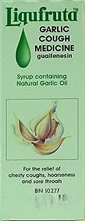 Liqufruta Garlic Cough Medicine -5floz