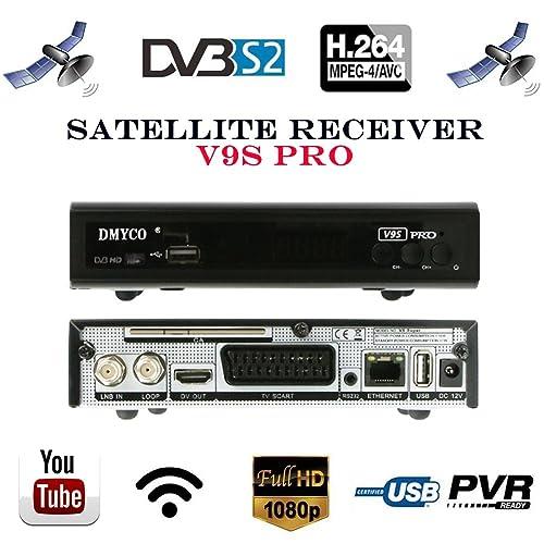 Satellite TV Receivers Full 1080P DVB-S/S2 Free to Air Digital Receptor FTA