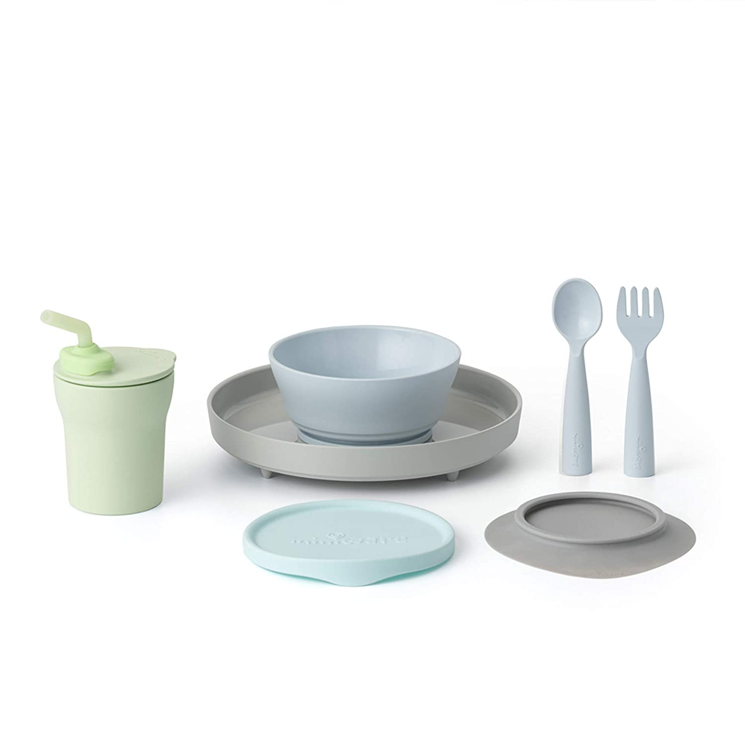 Miniware Little Foodie Ranking Many popular brands TOP6 Set with My Sandwich Bowl Cereal Plate