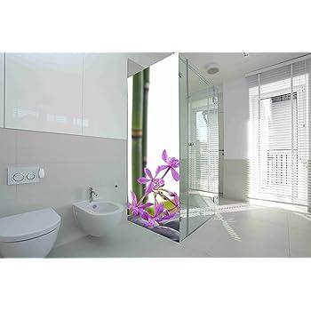 Vinilo para Mamparas baños Piedras de Rio |Varias Medidas 185x60cm | Adhesivo Resistente y de Facil Aplicación | Pegatina Adhesiva Decorativa de Diseño Elegante|: Amazon.es: Hogar