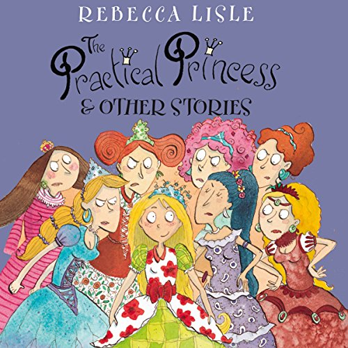 The Practical Princess and Other Stories audiobook cover art