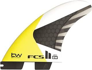 FCS II Ben Wilson Kite Surfing Tri Fin Set - High speed foil matrix