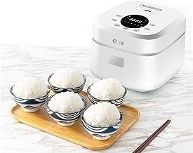 Slimme rijstkoker Mini suikerverlagende rijstkoker met frequentieomzettingsthermostaat,IMD LCD Touch voor dikke mensen en ...