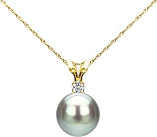 Best grey pearl and diamond necklace Reviews