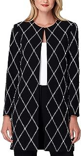 T ALEXANDER WONG Womens Black Embroidered Embellished Topper Jacket US Size: 12
