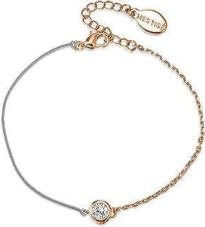 Mestige PMBR1002 Rose Gold Lynlee Bracelet for Women