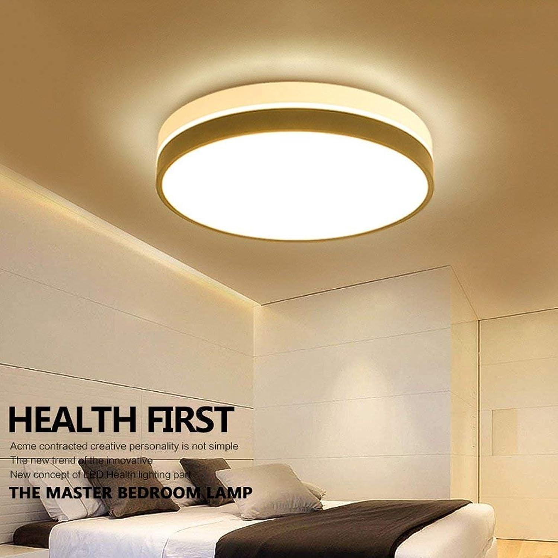 GZ Deckenleuchte runde Schlafzimmerleuchten Moderne einfache Wohnzimmerleuchten Kreative Zimmerleuchten Nordic Geometrische Lichter LED Deckenleuchten