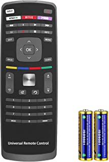 XRT112 Remote Control fit for Vizio LCD LED 3D HDTV Smart TVs with Netflix/Amazon