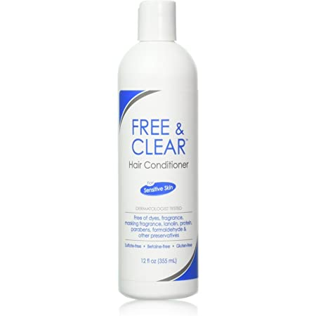 Free & Clear Hair Conditioner, Unscented, 12 oz (Pack of 3) (PPAX1183675)