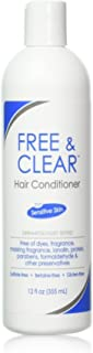 Free & Clear Hair Conditioner 12 oz (Pack of 3)