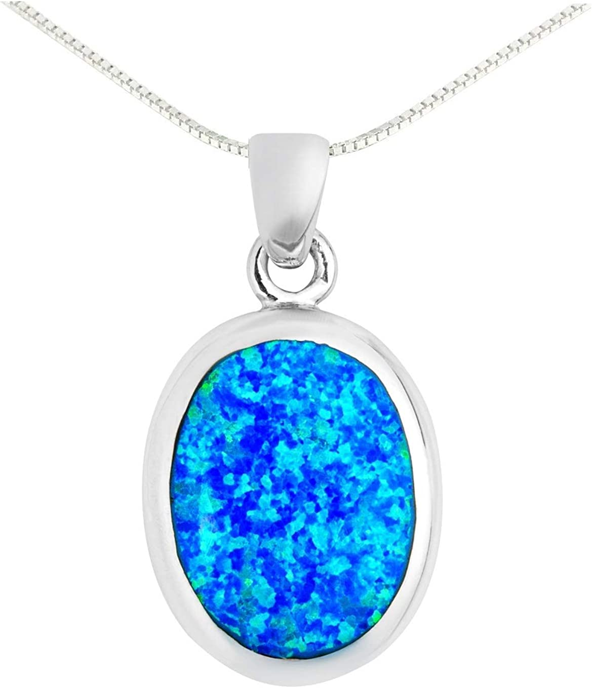 BellaMira Now free shipping 2021 new Lifestyle Accessories 925 Sterling Ne Opal Silver Blue