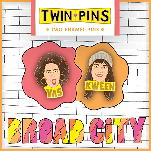 Broad City Twin Pins: Two Enamel Pins