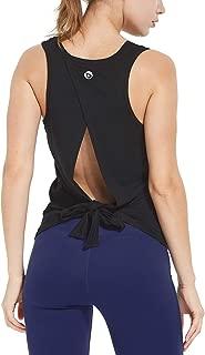 Women's Soft Lightweight Cowl Back Workout Yoga Sleeveless Shirts