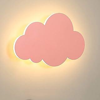 HORKEY Applique murale moderne en forme de nuage pour intérieur - En acrylique - Avec lampes LED intégrées - Couleur chaud...