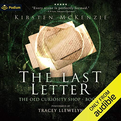 The Last Letter Audiobook By Kirsten McKenzie cover art
