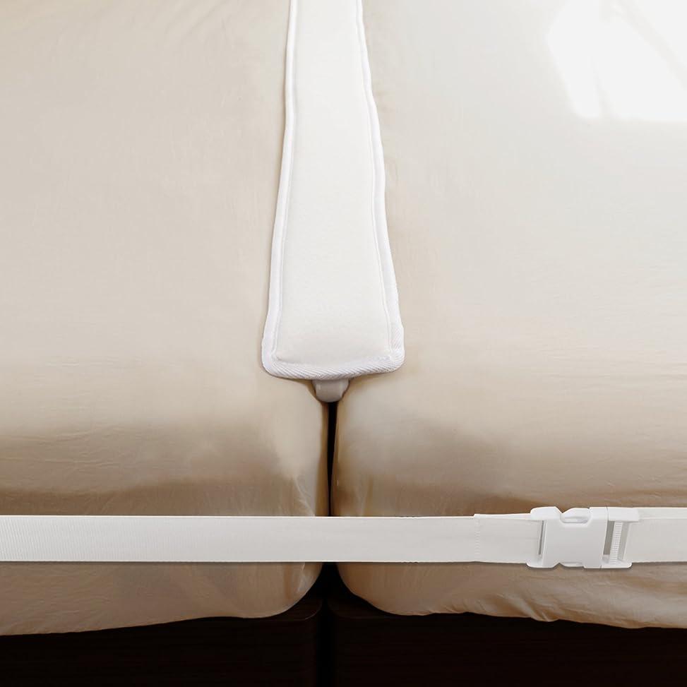 アーティキュレーション使用法おとなしい【2点セットでガッチリ固定】すきまパッド 固定ベルト ベッド マットレス ズレ防止