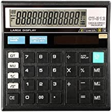 $25 » Calculator Student Large LCD Display Large Buttons 12-bit Solar Electronic Desktop Calculator, Suitable for Office, School...