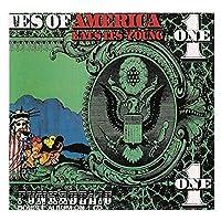 Xianrenge ファンカデリック(ジョージクリントン)のアルバムカバーを印刷アメリカはその若いキャンバスを食べるポスター壁アートキャンバス印刷に印刷-24X24インチX1フレームレス