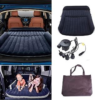 comprar comparacion Colchón Inflable para Coche Cama Air de Auto SUV Viaje Camping Senderismo Cama Hinchable de Coche SUV Plegable Extendida p...