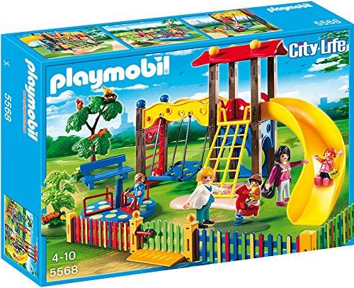 Playmobil 5568 - Area Giocho Esterna per Bambini, 5 Pezzi