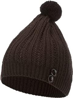 ANDERDM 2019 Crystal Women Autumn Winter Beanie Hat Knitting Wool Warm Hats Earmuffs Hat Fashion Gift