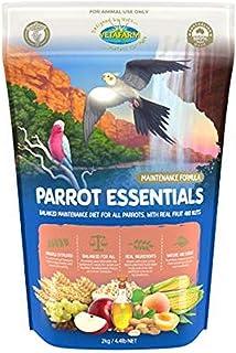 Vetafarm Parrot Essentials Complete Diet Birds Food 2 kg, Large