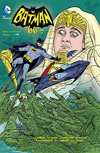 Batman '66 Volume 2 TP by Jonathan Case (Artist), Jeff Parker (5-May-2015) Paperback