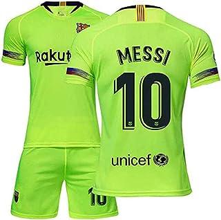 SUNY Kinder T-Shirt Fußball Trikot Rakuten Messi Unicef #10 Deutschland Trikot in Verschiedene Grössen Für Jungen Und Mädchen Mit Wunschname UND Wunschnummer