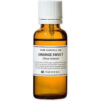 オレンジスイート 30ml インセント エッセンシャルオイル 精油 アロマオイル