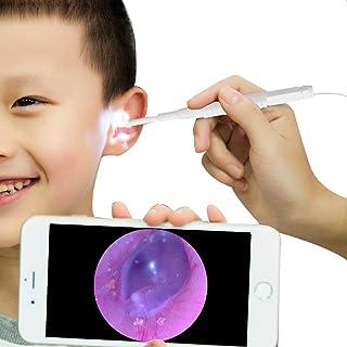 耳のクリーニングツールIP67防水ワイヤレスOtoscopeのWi-FiのWiFiボックス付きHD 720 P内視鏡付き6調整可能なLED付き内視鏡