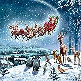 Carity Christmas Cards - Tarjetas de Navidad con acabado en relieve (5 unidades)