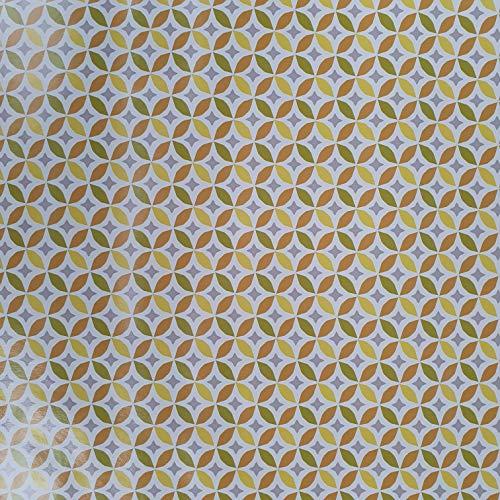 Jolee Stoffen PVC Vinyl Veeg Schone Oliedoek Tafelkleed Sterren en Bloemblaadjes