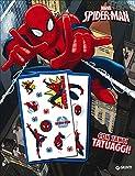 Il libro con tatuaggi. Spider-Man. Super album. Ediz. illustrata...