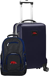NCAA Deluxe 2-Piece Backpack & Carry-On Set, Navy