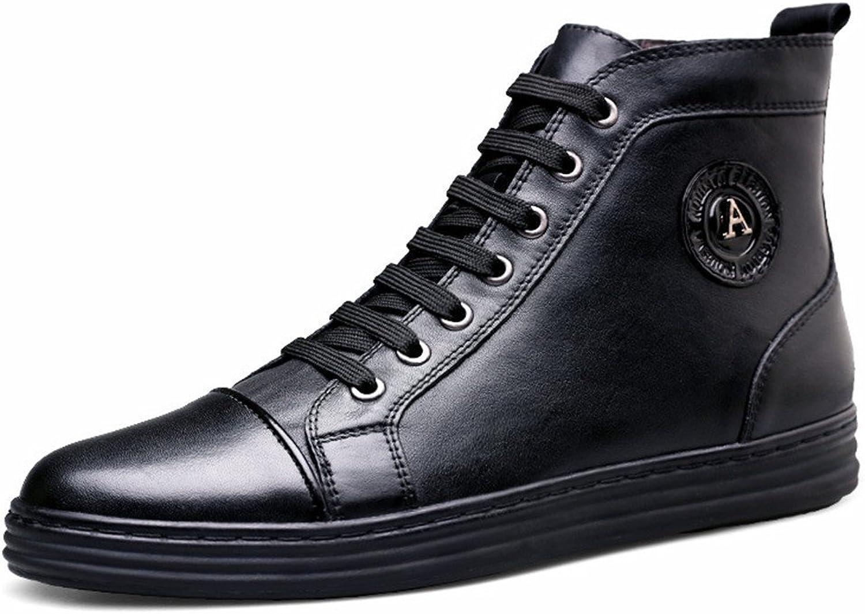 ZQ ZQ ZQ @QXautumn och vinter High Cotton skor Plus kashmirkängor friluftsskor, svarta och bomull, 45  klassiskt mode