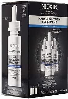 Nioxin Minoxidil Hair Regrowth Treatment Men, 6 oz.
