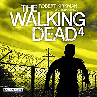 The Walking Dead 4 audiobook cover art