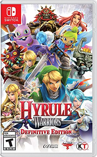 Hyrule Warriors Definitive Edition (輸入版:北米) -Switch