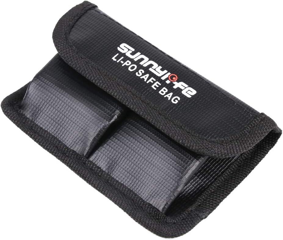 Penivo Sacoche de s/écurit/é OSMO LiPo,Sac de Rangement pour Batterie de Protection Anti-d/éflagrant pour DJI Osmo Action Camera Chargeur Case Sac /à Dos Accessoires pour 3 Batteries