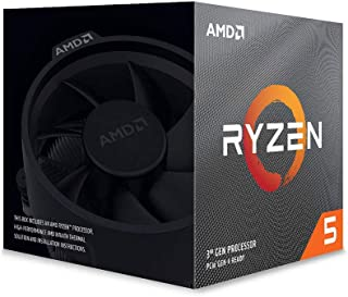 AMD Ryzen 5 3600X with Wraith Spire cooler 3.8GHz 6コア / 12スレッド 35MB 95W【国内正規代理店品】 100-100000022BOX