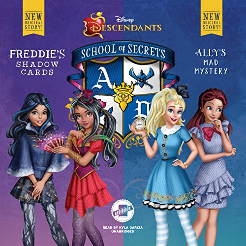 Disney Descendants: School of Secrets audiobook cover art