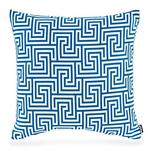 H.O.C.K. Gauzy Outdoor Kissen 50x50cm blue No.16 colblo