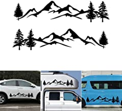 Motor home Caravan Camper Horse box Sunset Stickers Mural Decal Graphic mh1-136