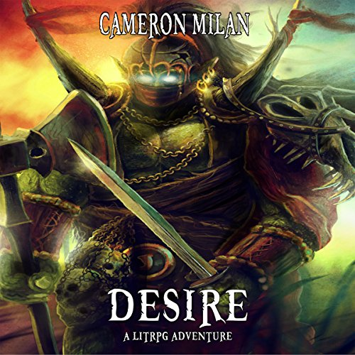 Desire: A LitRPG Adventure audiobook cover art
